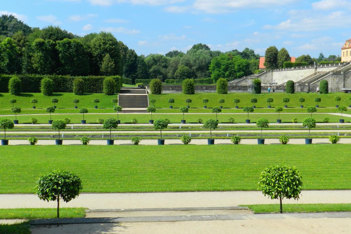 Das andere Gesicht von Heidenau. Der Barockgarten Großsedlitz gilt als />>Sachsens Versailles< <